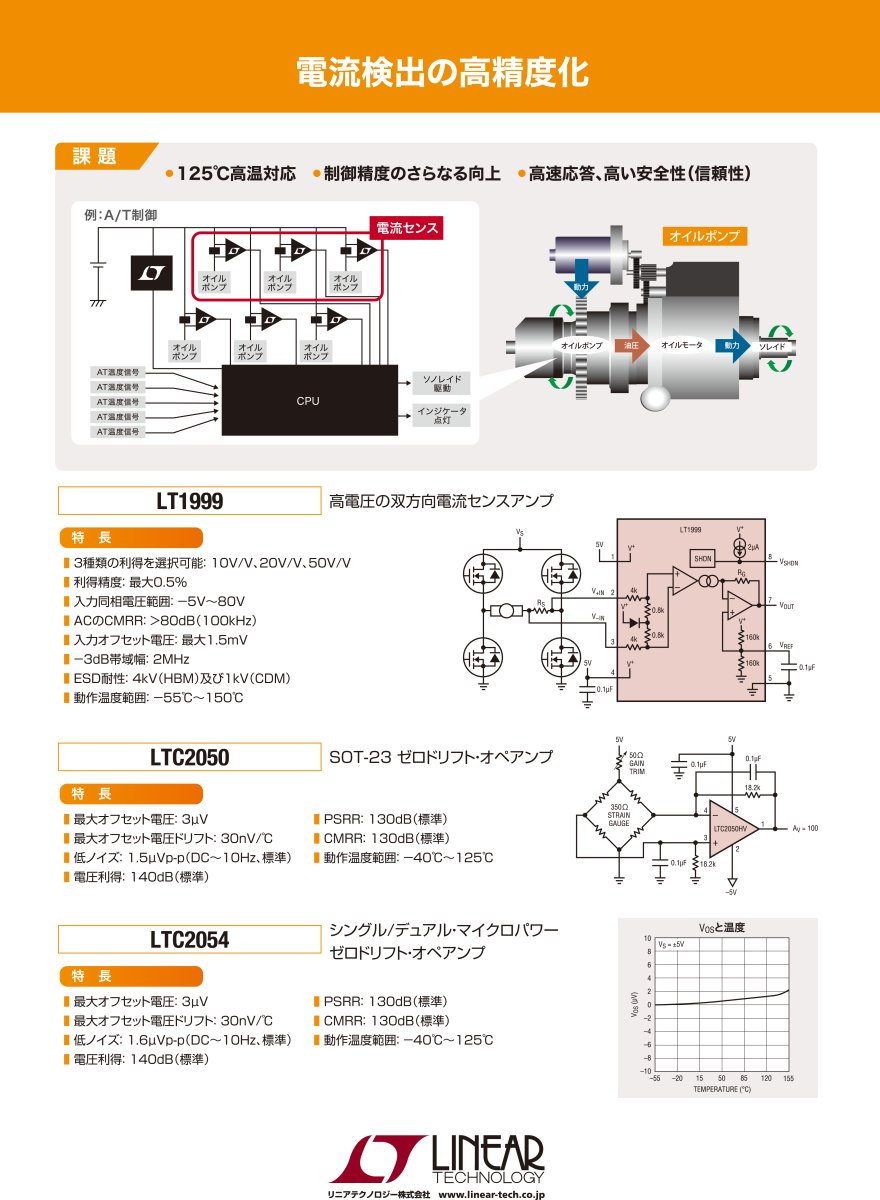 Parts Manufacturer Base Detaillinear Technology Corpusa Op Ampsoperational Amplifiers Electronic Circuits And Diagram Ltc2050 Zero Drift Amps Operational