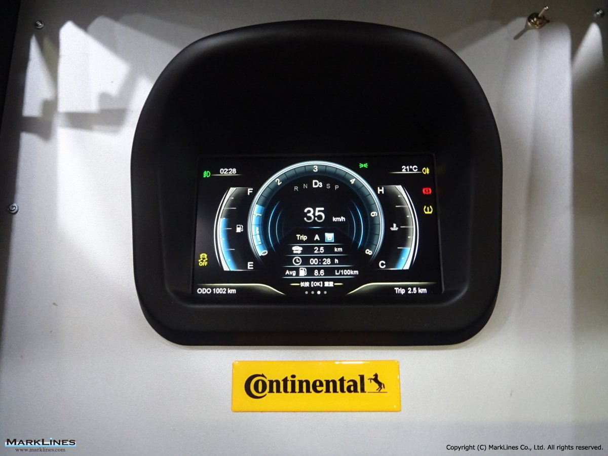 Continental Group China Marklines Automotive Industry Portal Austin Mini Printed Circuit Board 2 Gauges Logo