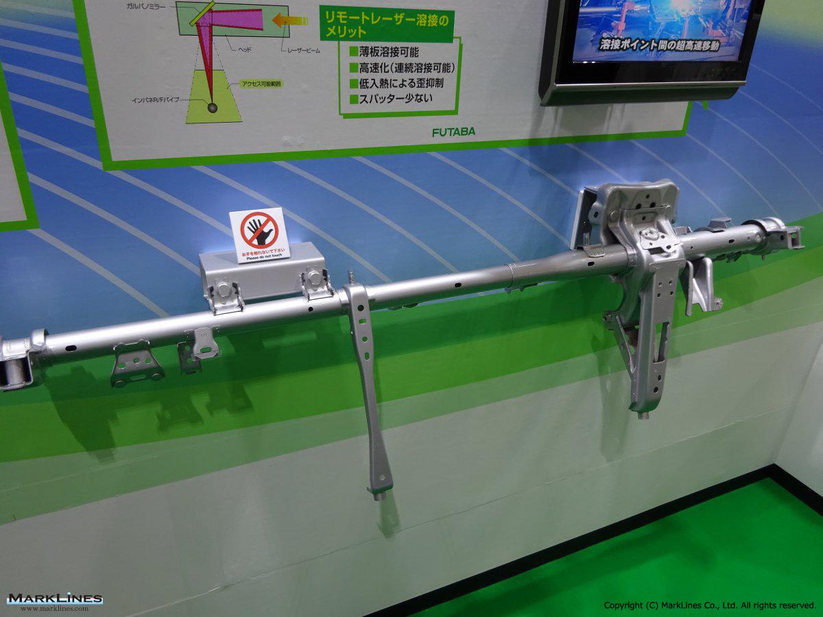 Futaba Industrial Co Ltd Marklines Automotive Industry Portal Gt 3000 Fuel Filter Location Logo