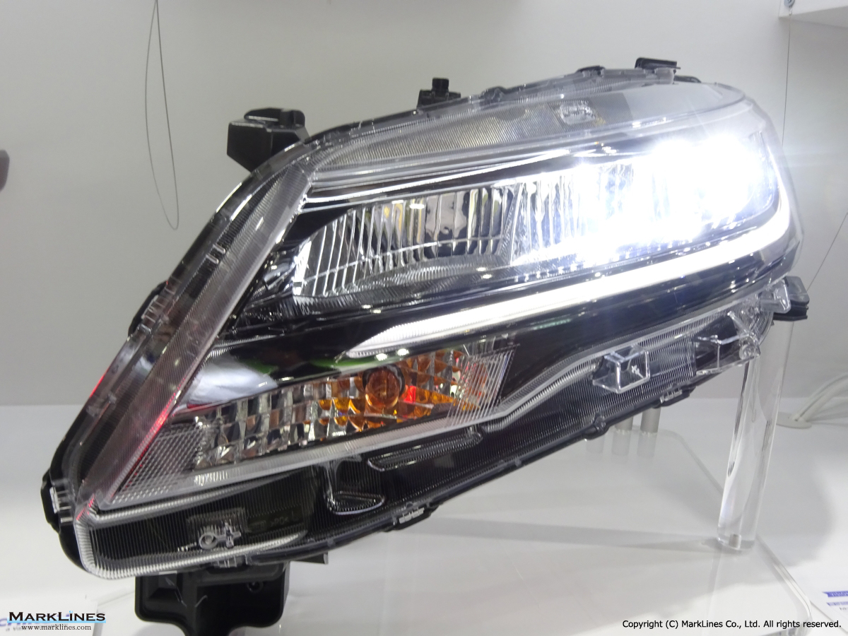 Ichikoh Industries Ltd Marklines Automotive Industry Portal Head Lamp Fuso Led