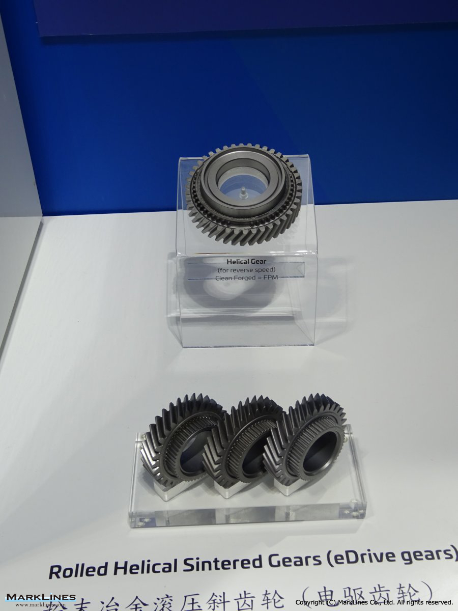 Gkn Plc Marklines Automotive Industry Portal Helical Wire Harness Lay Rolled Sintered Gears Edrive
