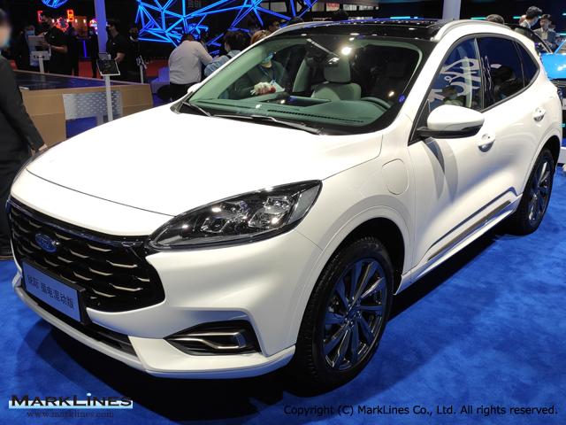 Escape Kuga Phev Marklines Automotive Industry Portal