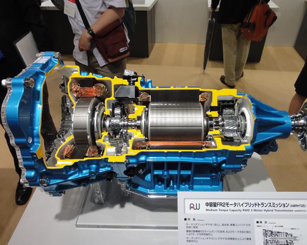lexus gs450h transmission