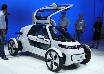 VW's 1-seater EV concept car, the Nils