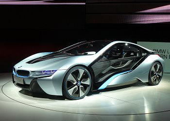 Sports car type PHV, the BMW i8