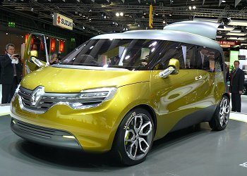 Renault's LCV concept, the FRENDZY (driver seat side)