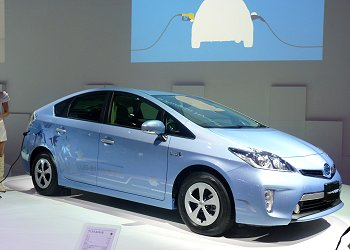 Prius PHV, which Toyota will launch in January 2012