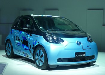 A compact EV concept that Toyota plans to launch in 2012, FT-EV III
