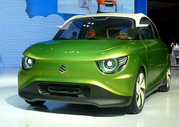 Suzuki's global compact car concept, REGINA