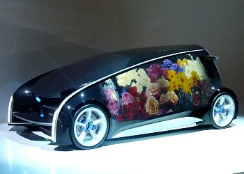 Fun-Vii, Toyota's concept car that heralds a future where people, cars and society are linked