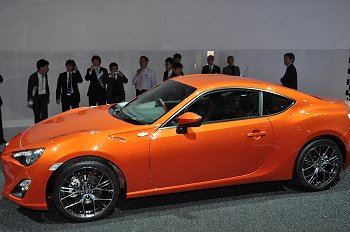 "Prototype of an FR sports car that Toyota/Subaru jointly developed, Toyota version, ""86"""