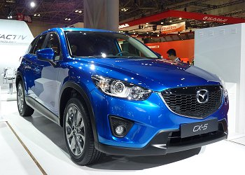 Mazda CX-5, which totally adopts SKYACTIV technology