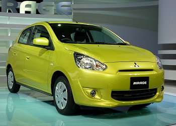 Mitsubishi's global car, Mirage
