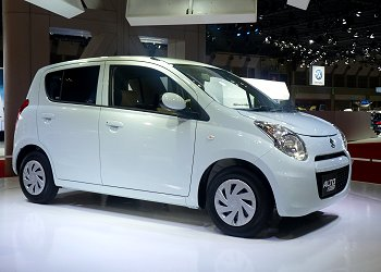 Suzuki's Alto with improved fuel economy, Alto eco