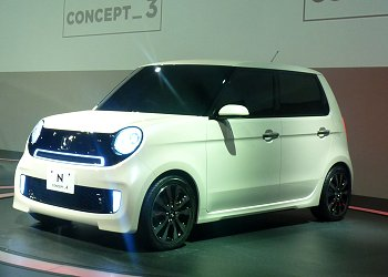 Honda's sedan-type mini car concept, N CONCEPT_4