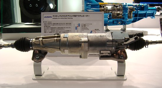 Aisin Seiki's actuator for Active Rear Steering