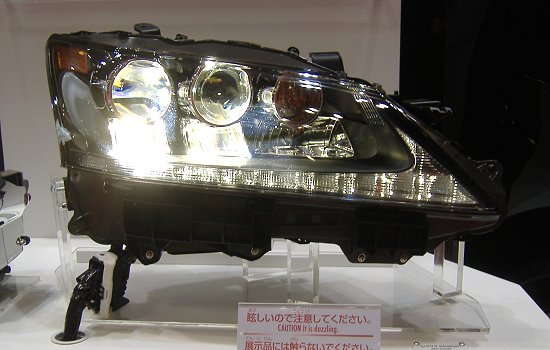 Koito's All LED Headlamp (used on new Lexus GS 450h)