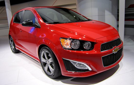 2013MY Chevrolet Sonic RS, which is scheduled to be launched in the second half of 2012