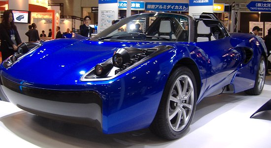 """TEEWAVE"" AR1, two-seater EV concept car by Toray"