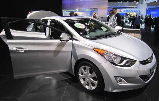 Hyundai Elantra, which is the 2012 North American Car of the Year