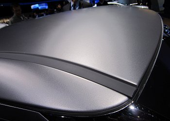 Roof of (matte grey) Veloster Turbo