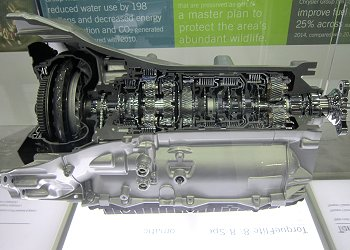 An 8-speed AT, which is used in the 300C