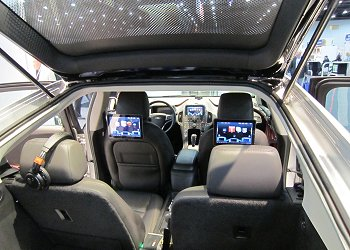 The interior of the VOLT