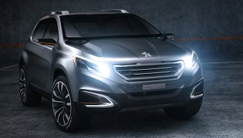 Peugeot's Urban Crossover concept
