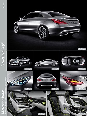 M-Benz' Concept Style Coupe