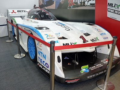 Racing car participated in the Pikes Peak International Hill Climb 2012