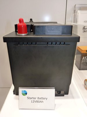 Lithium-ion starter battery for Mercedes-Benz cars