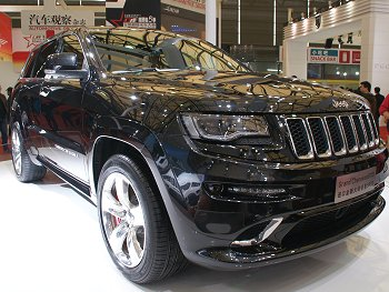 all-new Grand Cherokee SRT8