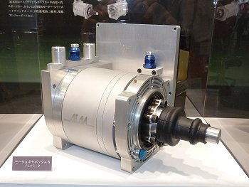 APM120 high-performance motor exhibited by Aim