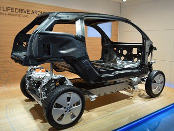 Body frame of the i3