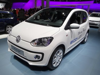 VW's first EV model, the e-up!