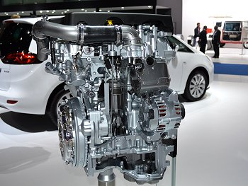 1.0-liter turbocharged petrol engine