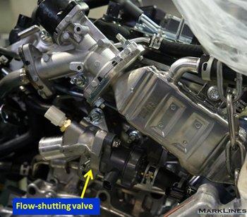 Flow-shutting valve