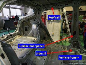 Body side inner panel