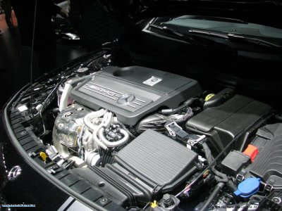 Mercedes-AMG GLA 45 4Matic Engine Compartment