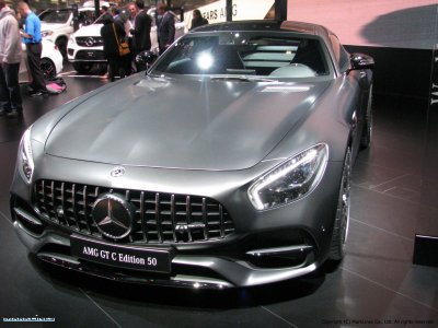 Mercedes-AMG GT C Edition 50 (limited anniversary edition)