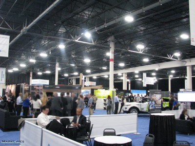 TU-Automotive Detroit 2017 exhibition floor