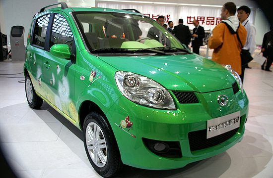 Great Wall Motor's GWPERI EV