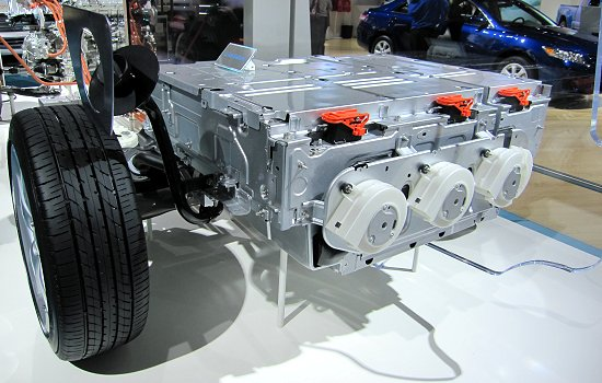 Toyota: PHEV Prius battery pack