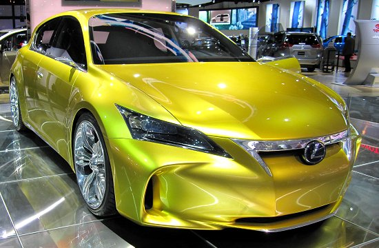 Toyota: Four-seater five-door hatchback full-time HEV concept, Lexus LF-Ch