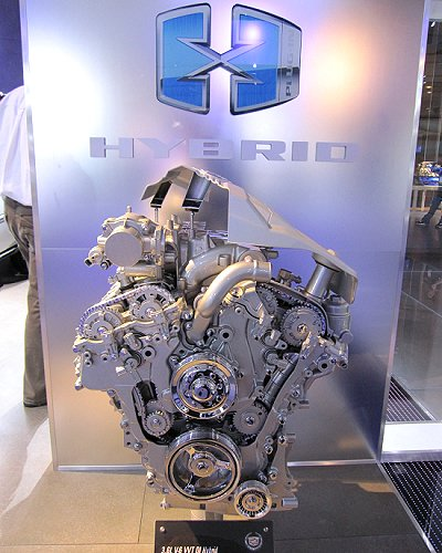 GM: Engine used on PHEV, Cadillac XTS Platinum Concept