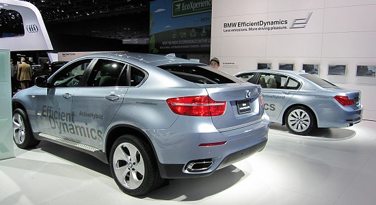 BMW: HEV models, Active Hybrid X6 and Active Hybrid 7