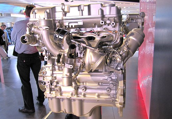 GM: 1.4L in-line 4-cylinder turbocharged engine for GMC Granite