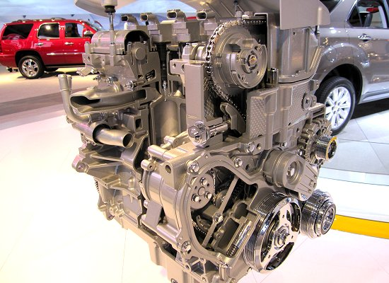 GM: 2.4L in-line 4-cylinder direct-injection engine with VVT to be used on Chevrolet Equinox (FWD model)