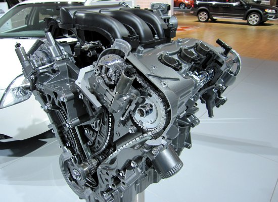 Ford: V6 3L engine for the Mercury Milan