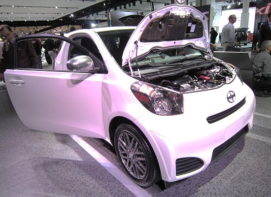 iQ production vehicle that is to go on sale in North America